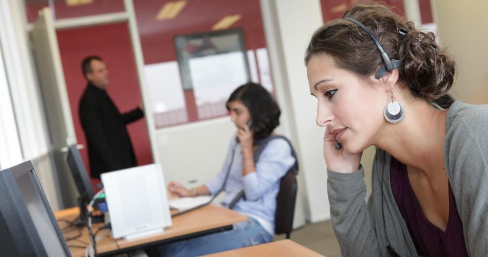 Enquête, réception d'appel, hotline, prospection, rendez-vous, qualification
